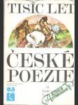 Tisíc let české poezie II. - náhled