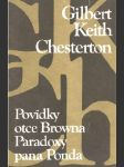 Povídky otce Browna, Paradoxy pana Ponda - náhled