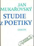 Studie z poetiky - náhled