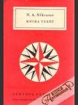 Kniha Veršu - náhled