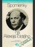 Spomienky na Alexeja Tolstého - náhled