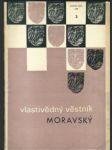 Vlastivědný věstník moravský roč. xxxii, č. 2, 1980 - náhled