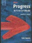 New progress to first certificate - náhled