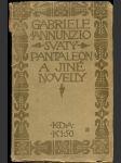 Svatý Pantaleon a jiné novelly - náhled