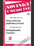 Zásady ošetřování popálených úrazů, Kardiopulmonální resuscitace - náhled