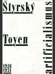 Štyrský, Toyen - artificialismus - 1926 - 1931 - kat. výstavy, Pardubice 25. 6. - 6. 9. 1992, Karlovy Vary 17. 9. - 1. 11. 1992, Praha 11. 11. 1992 - 10. 1. 1993 - náhled