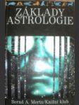 Základy astrologie - mertz bernd a. - náhled