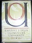 Kapitoly z dějin Olomoucké university 1573-1973 - NAVRÁTIL Jan a kol. - náhled