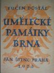 Umělecké památky Brna (4) - DOSTÁL Eugen - náhled