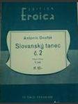 Slovanský tanec č.2  / piano / - náhled