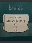 Slovanský tanec č.16  / piano / - náhled