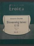 Slovanský tanec č.15  / piano / - náhled