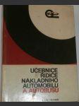 Učebnice řidiče nákladního automobilu a autobusu - náhled