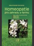 Homeopatie pro zahradu a farmu  - náhled
