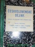 Československé dějiny - učebnice pro nejvyšší třídu středních škol - hrbek j. / líva v. / plaček j. / vodehnal j. - náhled