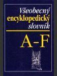 Všeobecný encyklopedický slovník  - náhled