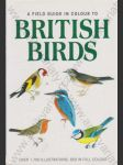 A field guide in colour to British birds - náhled