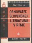 Osnovateľ slovenskej literatúry v Ríme - náhled