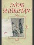 Indie a Pákistán - náhled