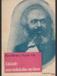 Základy marxistického myšlení - náhled