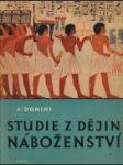 Studie z dějin náboženství - náhled