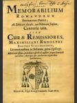 Memorabilium Romanorum Exornatorum Poëtice, Ad Ethicum alicubi, aut Politicum sensum, Centuria una. Sive Curae Remissiores, ... - náhled