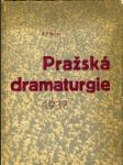 Pražská dramaturgie 1937. - náhled