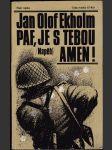 Paf, a je s tebou amen - náhled