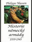 Historie německé armády 1939-1945 - náhľad