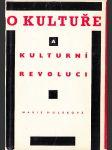 O kultuře a kulturní revoluci - náhľad