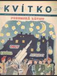 Časopis kvítko ročník xii.  číslo 33 - 14. srpen 1939 - náhled
