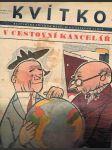 Časopis kvítko ročník xii.  -číslo 41 - 9. říjen 1938 - náhled