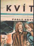 Časopis kvítko číslo 50 - ročník xiv. - 10. prosinec 1939 - náhled