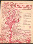 Časopis panorama ročník xxii. -číslo 11 - 1. prosinec 1947 - náhled