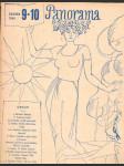 Časopis panorama ročník xxi. -číslo 9-10 -7. červen 1946 - náhled