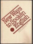 New  ways  to  spoken    english - náhled