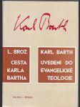 Cesta Karla Bartha - uvedení do evangelické teologie - náhled