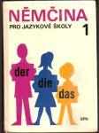Němčina pro jazykové školy 1. - náhled