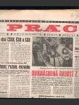 Novinový výtisk práce 21. listopadu 1989 - náhled