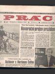 Novinový výtisk  č.1  práce 2. ledna 1990 - náhled