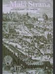 Malá strana - menší město pražské  - náhled