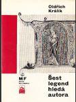 Šest legend hledá autora - náhled