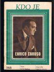 Kdo je - enrico caruso - náhled
