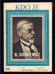 Kdo je - h. sienkiewicz - náhled
