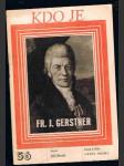 Kdo je - fr.j. gerstner - náhled