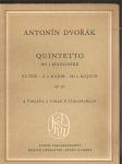 Quintetto  es dur - opus 97 - 2 violini, 2 viole e violoncello - náhled