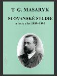 Slovanské studie a texty z let 1889-1891 - náhled