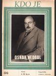 Kdo je Oskar Nedbal - náhled