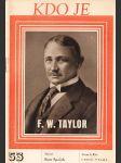 Kdo je F.W. Taylor - náhled