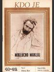 Kdo je Miklucho Maklaj - náhled